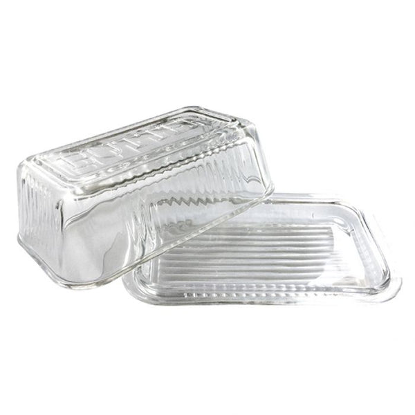 Kitchen Works Glass Butter Dish