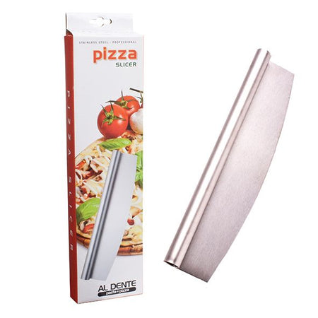 Al Dente Stainless Steel Professional Pizza Slicer 35cm