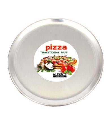"Al Dente Aluminium Pizza Pan 14""/35cm X 1mm"