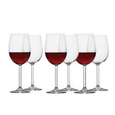 Ecology Classic Red Wine Glass Set of 6 - 450ml