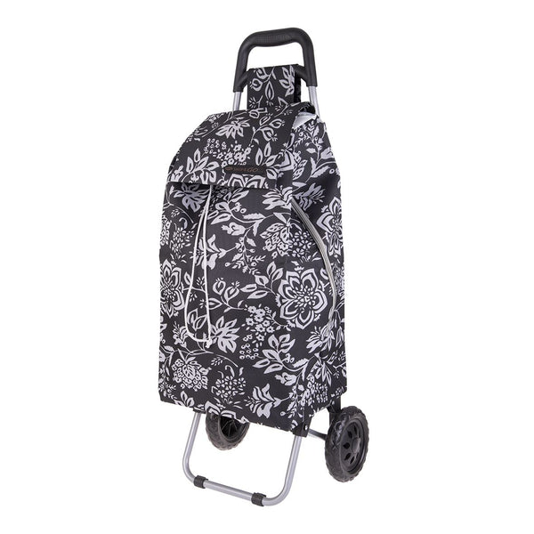 Shop & Go - Sprint Shopping Trolley - Camellia Black