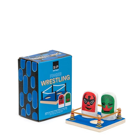 Salt & Pepper Play Finger Games - Wrestling