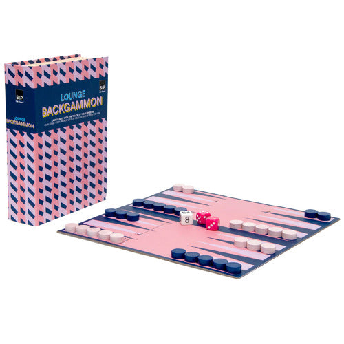 Salt & Pepper Play Library Backgammon