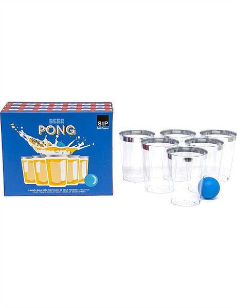Salt & Pepper Play Beer Pong