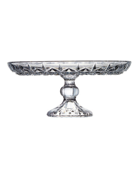 Salt & Pepper Milan Cake Stand Footed 30x13cm
