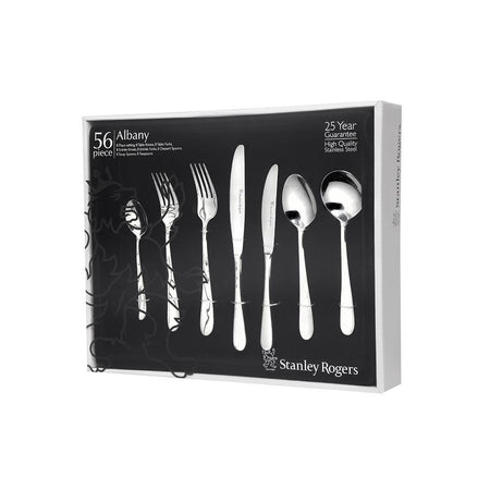 Stanley Rogers Albany Cutlery Set - 56pc