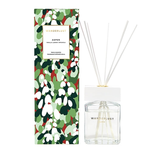 Salt & Pepper Wanderlust Diffuser Aspen 300ml