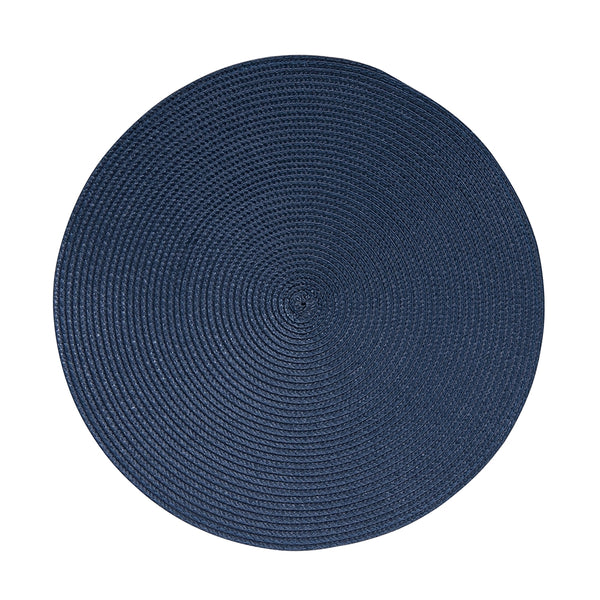 Salt & Pepper Paige Round Placemat Dusty Blue 38cm