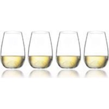 Ecology Stemless White Wine Glass Set of 4 - 460ml