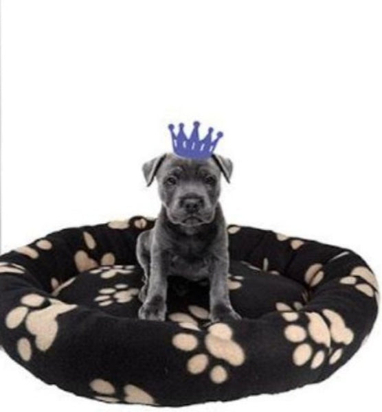 Pet Bed For Dogs or Cats 56x8cm - Round - 4 Assorted Designs
