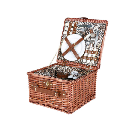 Avanti 2 Person Picnic Basket - Leopard