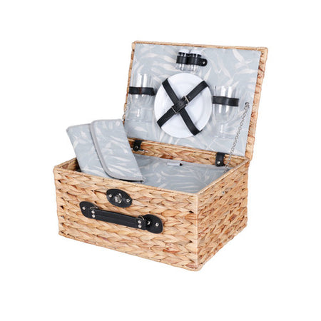 Avanti 2 Person Picnic Basket - Palm Leaf