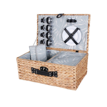 Avanti 4 Person Picnic Basket - Palm Leaf