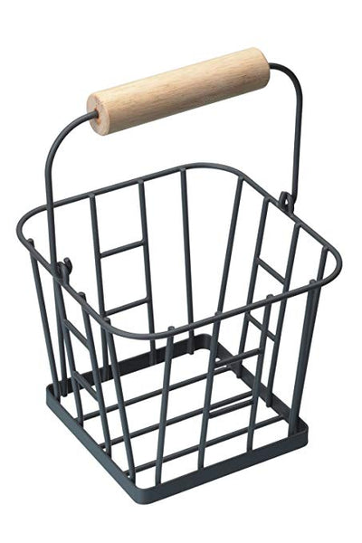 KitchenCraft Living Nostalgia Wire Egg Basket - Grey