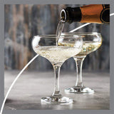 Pasabahce Bistro Champagne Saucer Set of 6 - 270ml