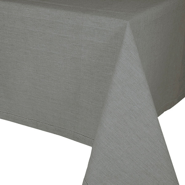 Madras Link Jetty Charcoal Tablecloth 180 X 280 cm