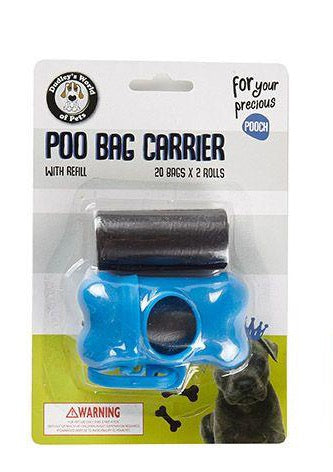 Poo Bag Carrier & Refill