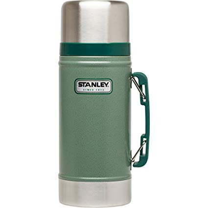 Stanley Classic Stainless Steel Vacuum Flask 709ml Green