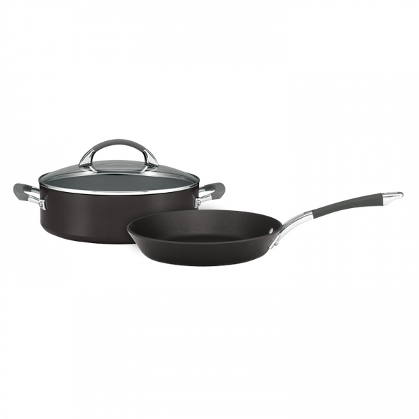 Anolon Endurance+ 26cm Skillet & 28cm Sauteuse 2pc Set