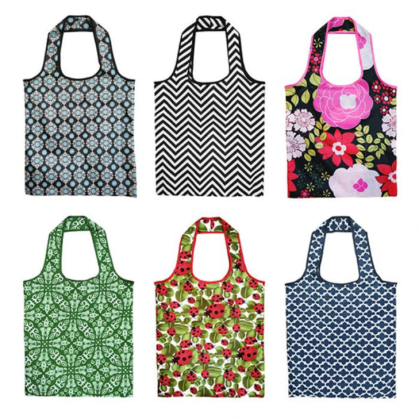 Sachi Eco Reusable Shopping Bag - 6 Assorted Designs