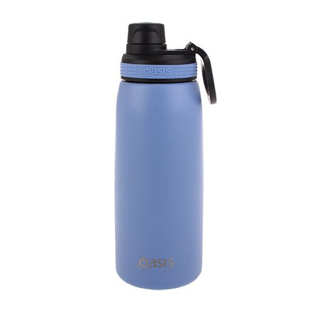 Oasis Stainless Steel Double Wall Insulated Sports Bottle Screw Cap 780ml - Lilac