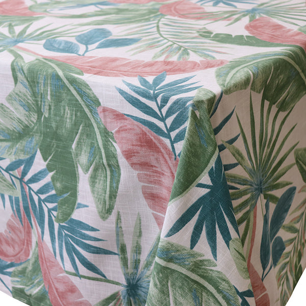 Madras Link Costa Rica Pink/Green Tablecloth 150 X 230 cm