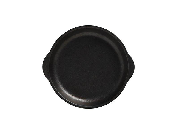Maxwell & Williams Caviar Black Plate With Handle 15.5X17cm