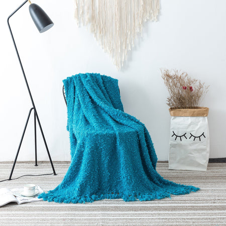 Airley Throw 125x150cm - Blue