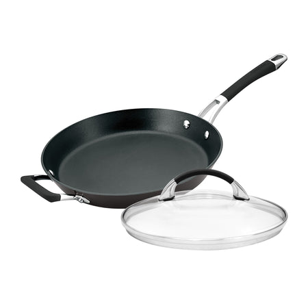Anolon Endurance+ 30cm Open French Skillet With Bonus Lid