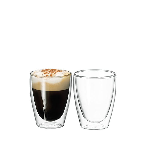 Avanti Cafe Double Wall Glasses Set of 2 - 250ml