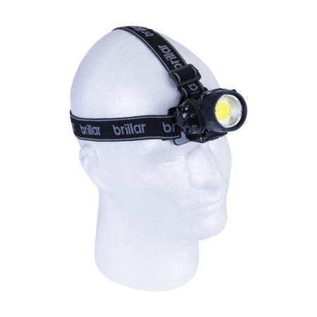 Brillar 3 Mode Headlamp Cob LED - Black