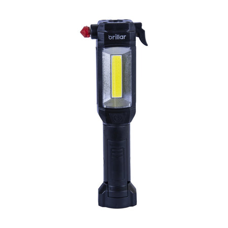 Brillar Multipurpose Emergency Torch - Black