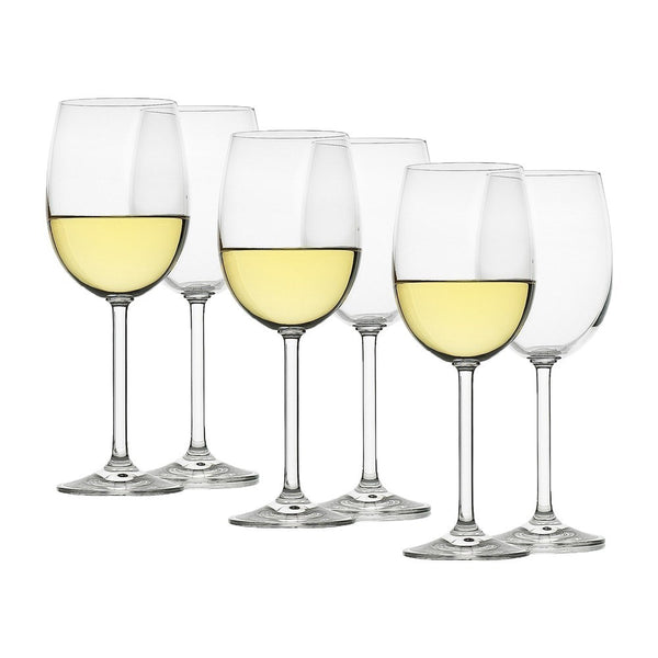 Ecology Classic White Wine Glass Set of 6 - 350ml