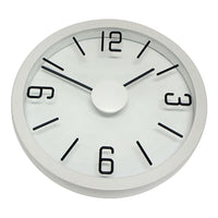 Degree White Float Wall Clock 50cm