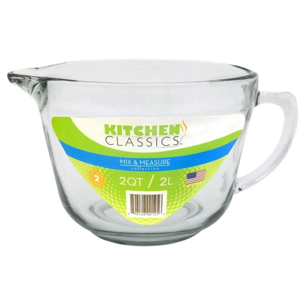 Kitchen Classics Glass Batter Bowl 2Lt
