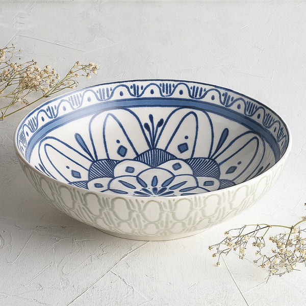 Ecology Oasis Stoneware Medium Serving Bowl 26x8cm