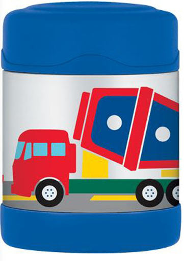 Thermos 290ml Funtainer Food Jar - Construction Vehicles