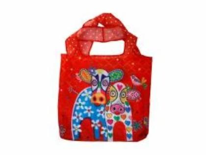 Maxwell & Williams Love Hearts Foldable Shopping Tote 45x45cm - Happy Moo Day