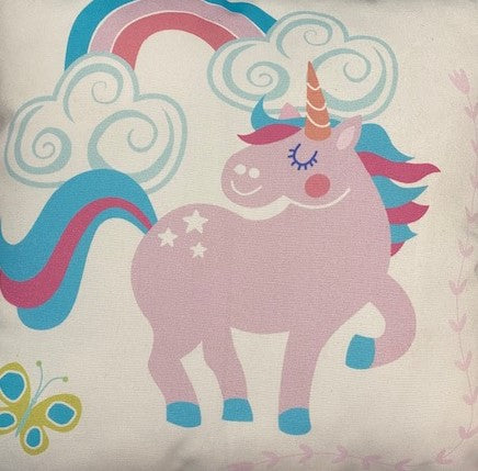 Unicorn Square Cushion 40x40cm