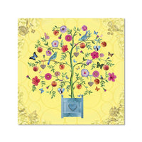 Jardiniere  - Yellow - Notecard