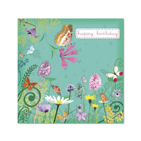 Butterfly Garden - Notecard