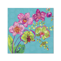 Orchids - Notecard