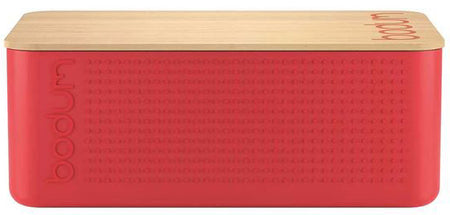 Bodum Bistro Bread Box - Large - Red