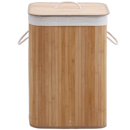 Laundry Hamper - Rectangular Bamboo