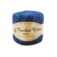 Crochet 100% Cotton 50GM - Navy