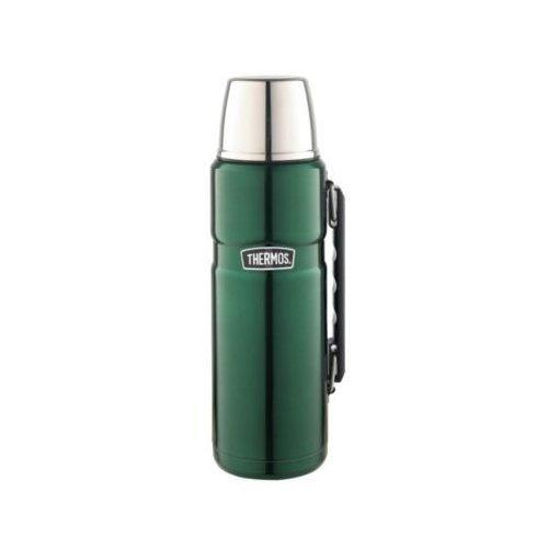 Thermos Stainless King Vacuum Insulated Flask 2L Green