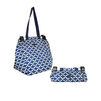 Sachi Shopping Trolley Bag Navy