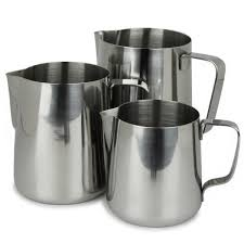 Incasa Stainless Steel Steaming Pitcher/Milk Jug 600ml / 20 oz