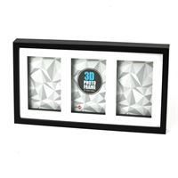 3D Wood Black Frame 3*13x18cm/5x7""