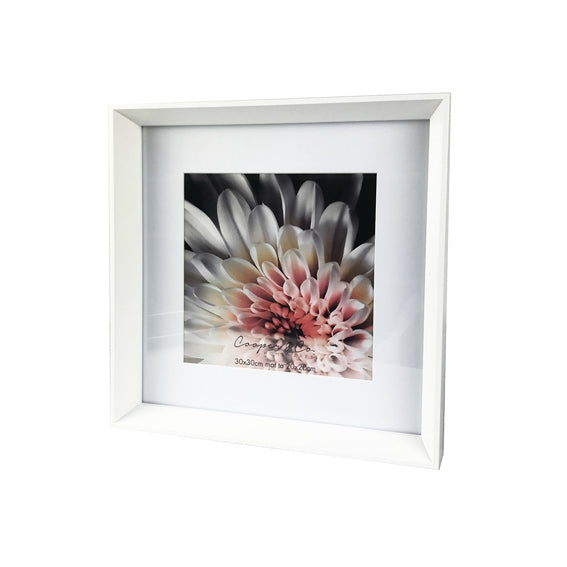 Madison Frame - White 20x20cm/8x8""